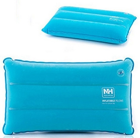 Подушка надувная Naturehike Square Inflatable Pillow NH18F018-Z, голубая (6927595760918)