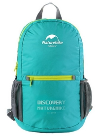 Рюкзак городской складной Naturehike NH15A001-B - голубой (6927595707005)