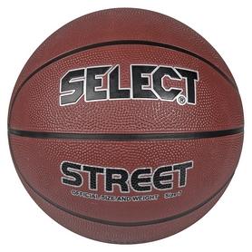 Мяч баскетбольный Select Basket Street №7, коричневый (5703543078936)