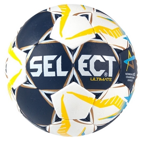 Мяч гандбольный Select HB Ultimate Champions League, желтый (5703543155507)