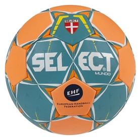 Мяч гандбольный Select Mundo New №2, зеленый (5703543150687)
