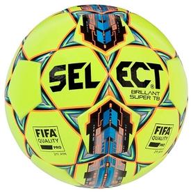 Мяч футбольный Select Brillant Super Fifa TB № 5, желтый (5703543147205)