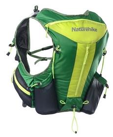 Рюкзак спортивный Naturehike Cross country NH70B067-B - зеленый, 12 л (6927595703410)