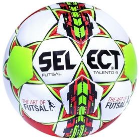 Мяч футзальный детский Select Futsal Talento 9 - белый, №3 (5703543104499)