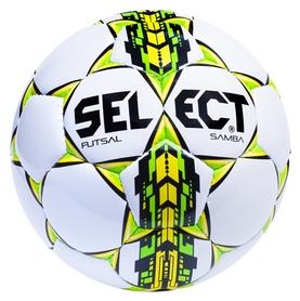 Мяч футзальный Select Futsal Samba New №4, белый (5703543104444)