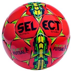 Мяч футзальный Select Futsal Samba New №4, красный (5703543104451)