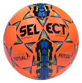 Мяч футзальный Select Futsal Attack New №4, оранжевый (5703543104468)