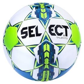 Мяч футбольный Select Talento New №4, зеленый (5703543091386)