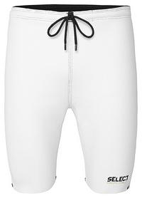 Термошорты мужские Select Thermal Trousers 6400, белые (564000-201)