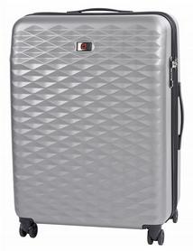 Чемодан пластиковый Wenger Lumen большой - серый, 96 л (604344)