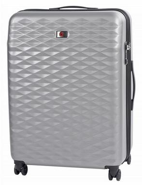 16c6a1a02d85 Чемодан пластиковый Wenger Lumen большой - серый, 96 л (604344) ...