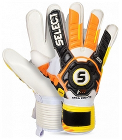 Перчатки вратарские Select Goalkeeper Gloves 55 Extra Force Grip (601550-340)