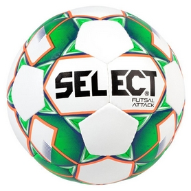 Мяч футзальный Select Futsal Attack Grain, белый (5703543187102)