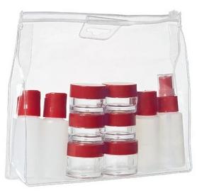 Набор емкостей для путешествий Wenger Bottle Set 10 psc, прозрачный (604548)