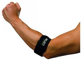 Бандаж на локоть Select Tennis/Golf and Mouse Elbow Support, черный (5703543703227)