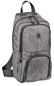 Рюкзак городской для ноутбука Wenger Console Cross Body Bag - серый, 8 л (605029)