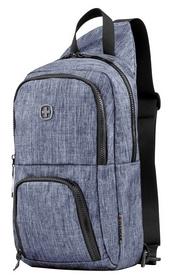 Рюкзак городской для ноутбука Wenger Console Cross Body Bag - серо-синий, 8 л (605031)