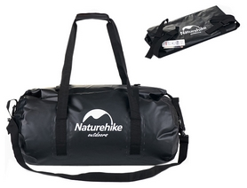 Гермобаул Naturehike NH16T002-L 500D - черный, 90 л (6927595719275)
