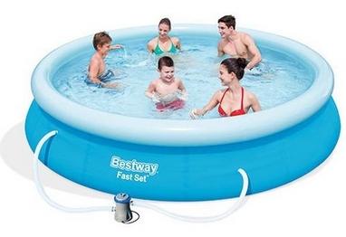 Бассейн надувной с фильтрующим насосом BestWay 57274, 366х76 см