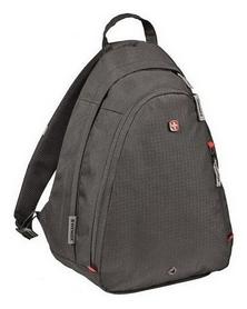 Рюкзак городской для ноутбука Wenger Compass Large Sling, - черный, 18 л (604427)