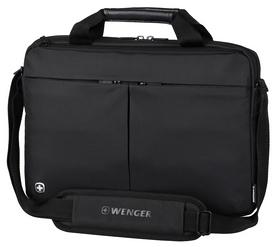 """Сумка для ноутбука Wenger Format 16"""" Laptop Slimcase - черная, 6 л (601062)"""