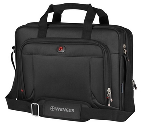 """Сумка для ноутбука Wenger Prospectus 16"""" - черня, 15 л (600649)"""