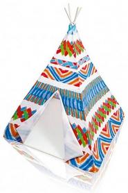 """Домик игрушечный (палатка) Intex """"Виг-Вам"""" - разноцветный, 122х122х157 см (48629)"""