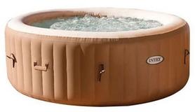 Бассейн-джакузи надувной с гидромассажем и нагревателем и аксессуарами Intex 28408, 216х71 см