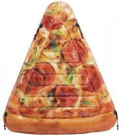 """Матрас для плавания надувной двухместный Intex  """"Кусок пиццы"""", 175х145 см (58752)"""