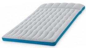 Матрас надувной двухспальный велюр Intex 245 кг, 127х193х24 см (67999)