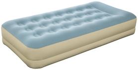 Велюр-кровать надувная одноместная Bestway, бежевая (69001)