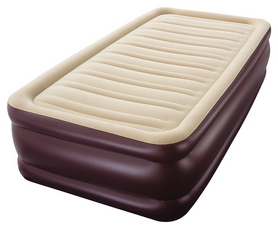 Велюр-матрас надувной одноместный Bestway, коричневый (67596)