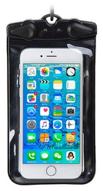 """Гермочехол для смартфона Naturehike NH15S004-D - черный, 6""""(6927595714102)"""
