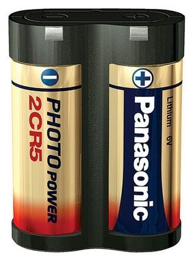 Батарейка Panasonic 2CR-5L Lithium, 1 шт (2CR-5L/1BP)