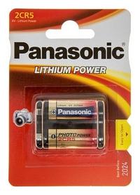Батарейка Panasonic 2CR-5L Lithium, 1 шт (2CR-5L/1BP) - Фото №2