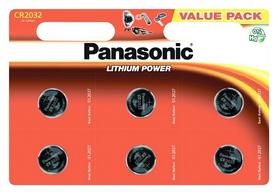 Батарейка Panasonic CR-2032 Lithium, 6 шт (CR-2032EL/6B)