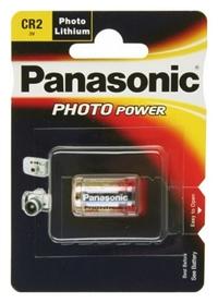 Батарейка Panasonic CR-2 Lithium, 1 шт (CR-2L/1BP)