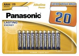 Батарейки Panasonic Alkaline Power AAA, 20 шт (LR03REB/20BW)