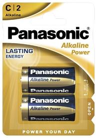 Батарейки Panasonic Alkaline Power C, 2 шт (LR14REB/2BP)