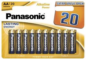 Батарейки Panasonic Alkaline Power AA, 20 шт (LR6REB/20BW)