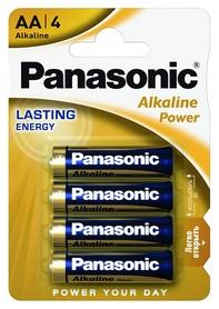 Батарейки Panasonic Alkaline Power AA, 4 шт (LR6REB/4BPR)