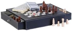 Набор игровой 5 в 1 (шахматы, шашки, домино, карты, крибедж) Duke CHLO5001