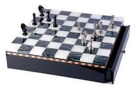 """Фигуры из латуни для игры в шахматы Duke """"Король и пешка"""" (SG1175-1)"""