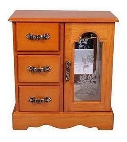 Шкафчик для украшений King Wood JF-C3012A, 18х9,5х20 см