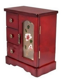 Шкафчик для украшений King Wood JF-B3017C, 18х9,5х20 см