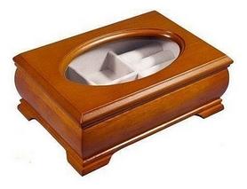 Шкатулка для украшений King Wood JF-K9028-2A, 17х7х11 см