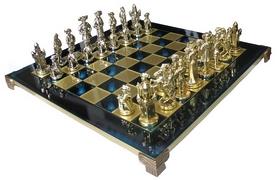 Шахматы Manopoulos «Мушкетеры» - синие, 44х44см (S12BLU)