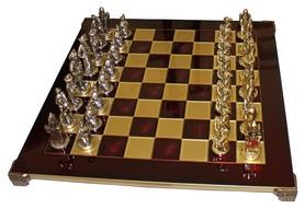 Шахматы Manopoulos «Мушкетеры» - красные, 44х44см (S12RED)