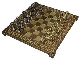 Шахматы Manopoulos «Спартанский воин», 28х27х7 см (S16MBRO)