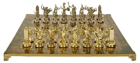 Шахматы Manopoulos «Греко-римская война», 20х20 см (S3BRO)